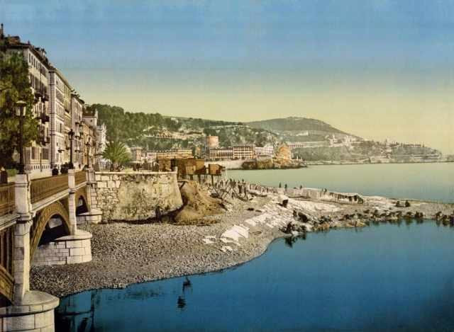The stunning landscape of Nice