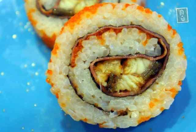 Chicken Futomaki
