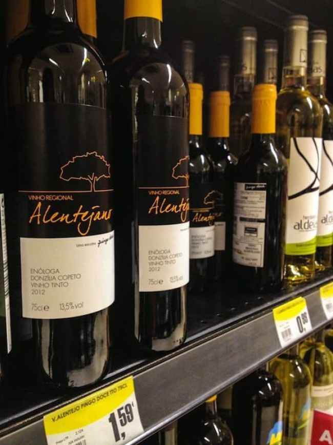 Portuguese wine can be really cheap