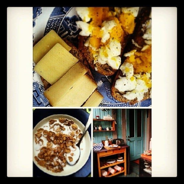 fresh and local breads, cheeses, and eggs were definitely the highlight!