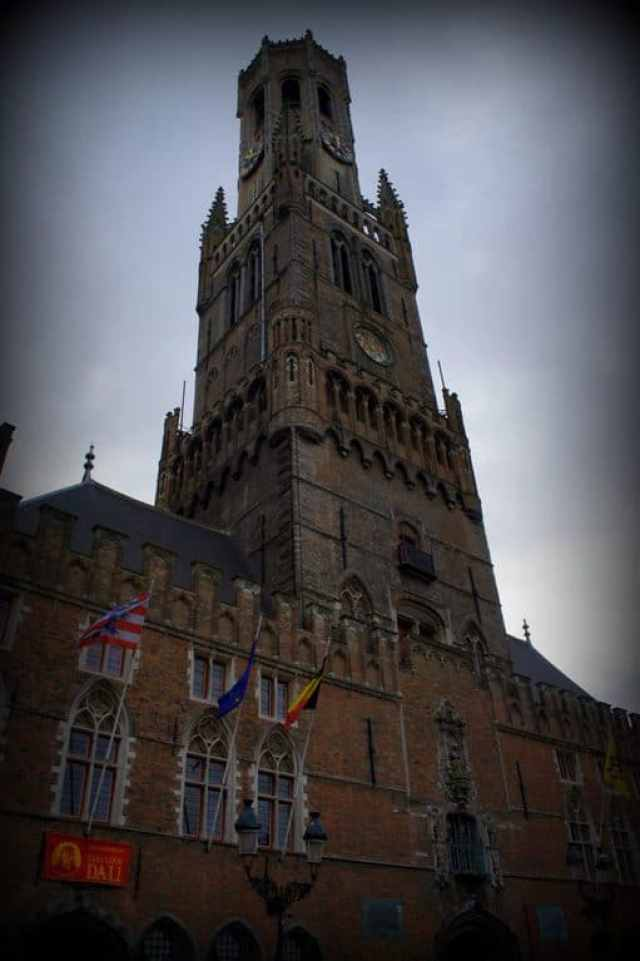 Bruges city center