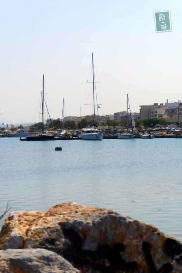 Boats in Rethymno