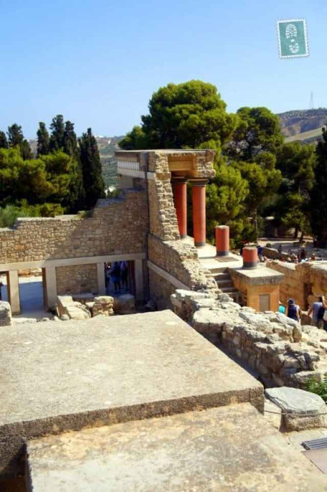 Palace of Knossos in Heraklion