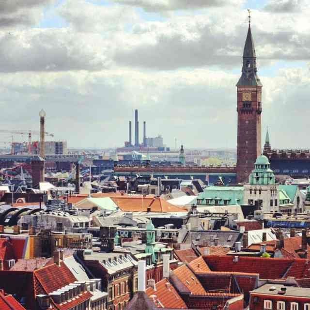 The view of Copenhagen