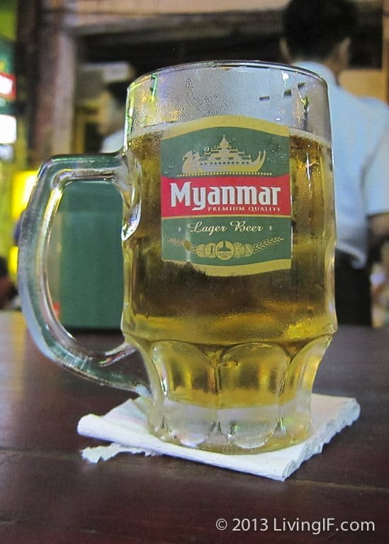 Mandalay Strong Ale, Myanmar Beer in Myanmar