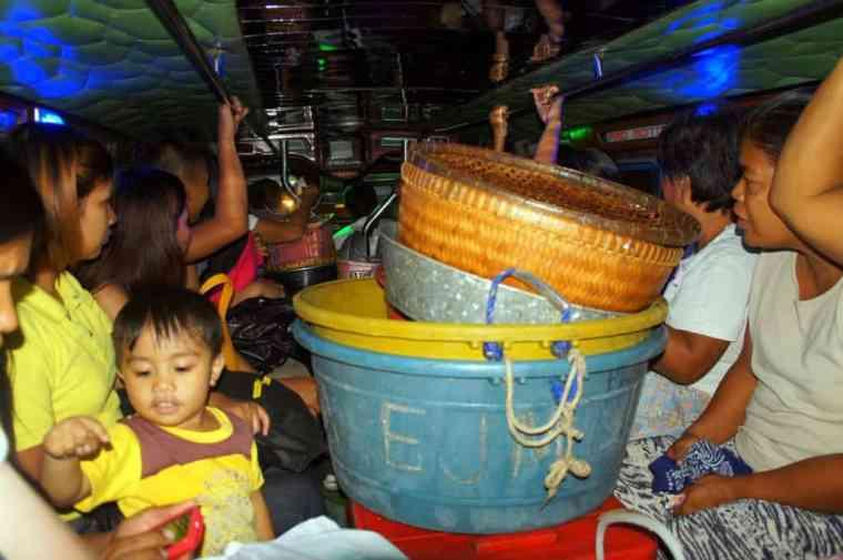 Jeepney many people