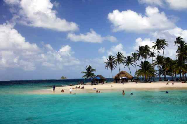 The stunning San Blas Islands on the coast of Panama