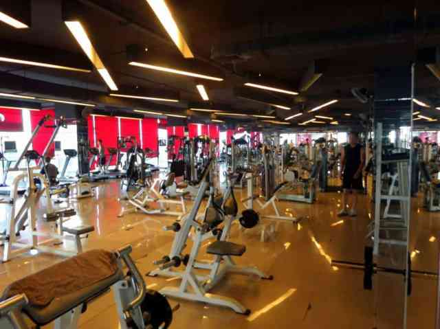 A gym in Chang Mai