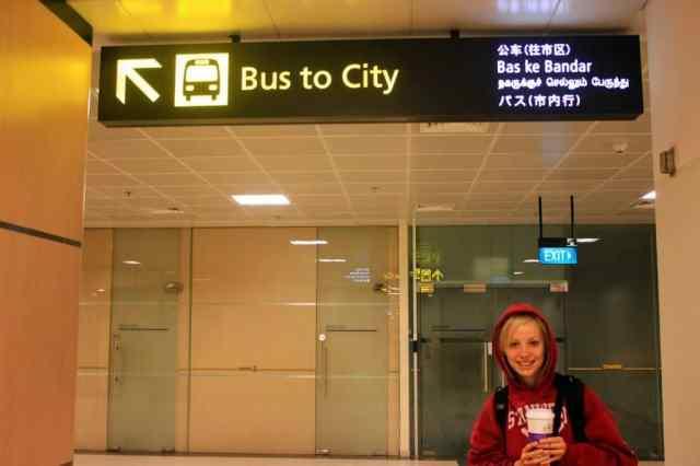 Bus to city