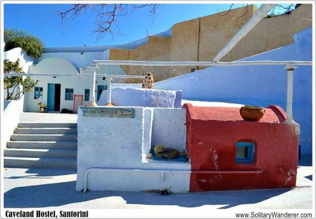 caveland hostel, santorini