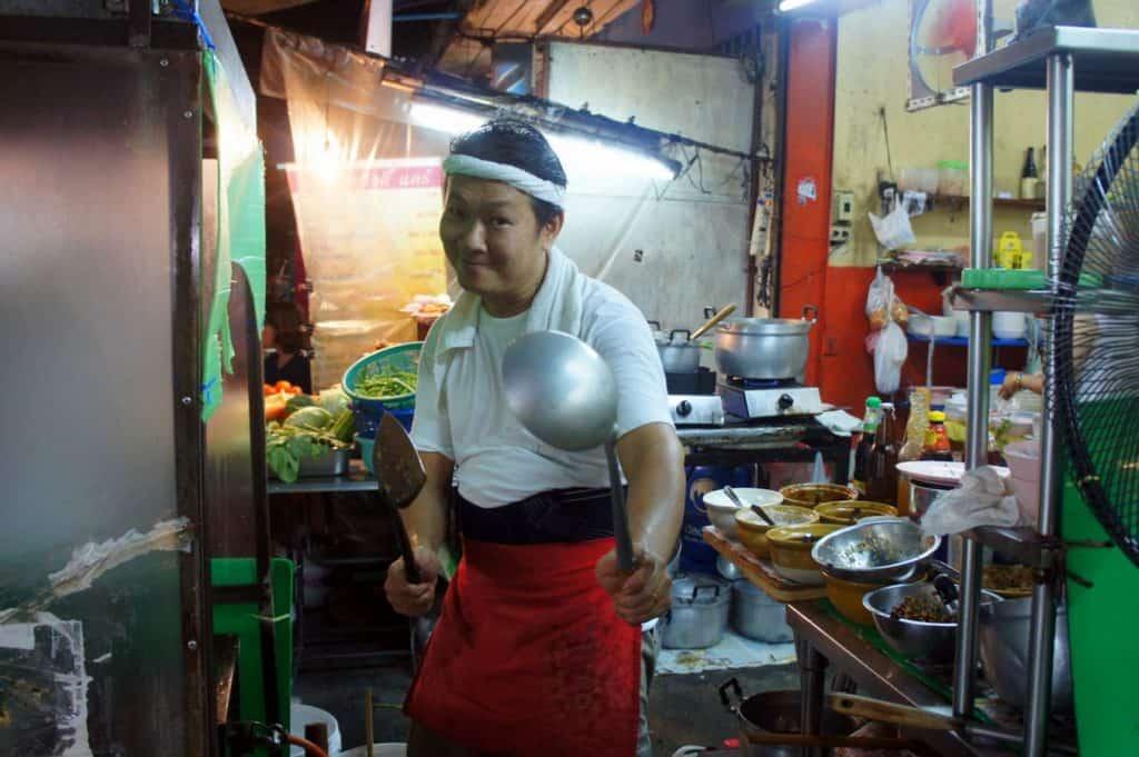 Thai chef in Bangkok