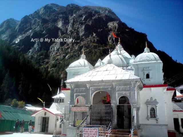 Gangotri temple, Garhwal Himalayas, India
