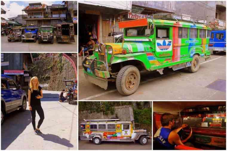 Jeepney collage