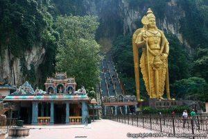The Batu Caves Hindu Shrine