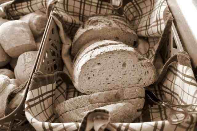 Fresh bread and breakfast rolls - good morning hostel
