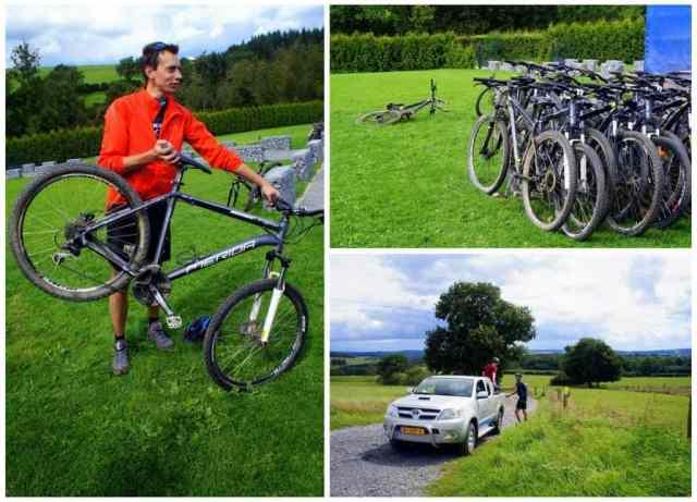 Mountain biking in the Ardennes