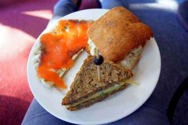 Yummy sandwiches in Amsterdam