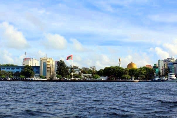 Malé skyline
