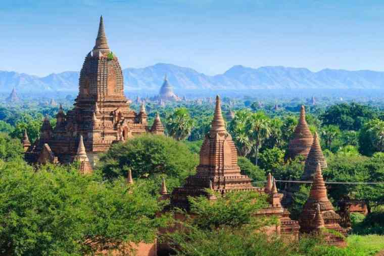 myanmair bagan scenery