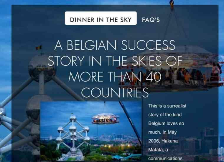 Dinner in the Sky