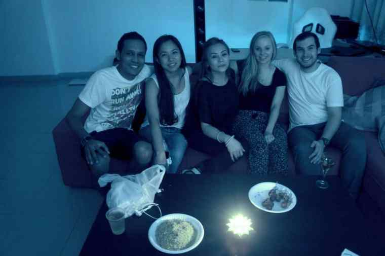 Awesome people met couchsurfing Dubai