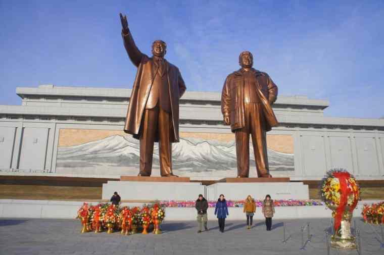 Leaders in North Korea