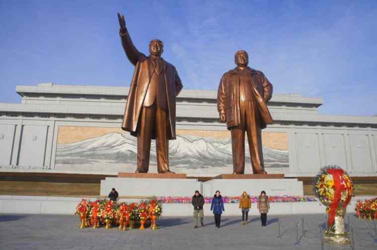 Leaders in North Korea