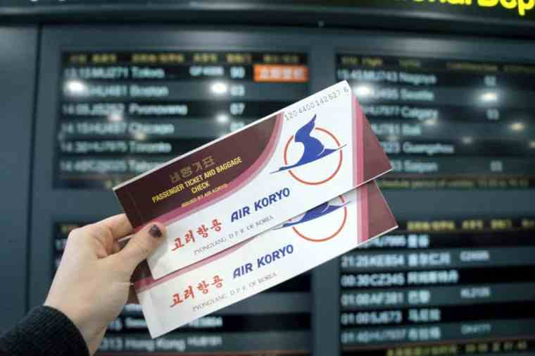 Tickets to the DPRK