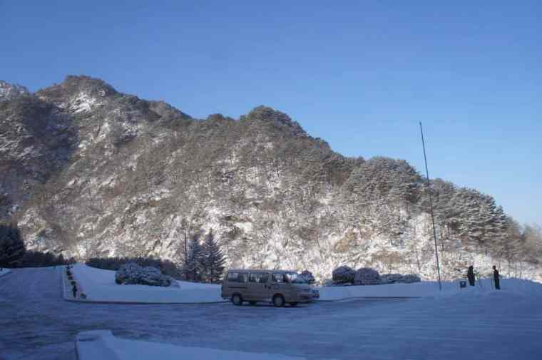 van in north korea