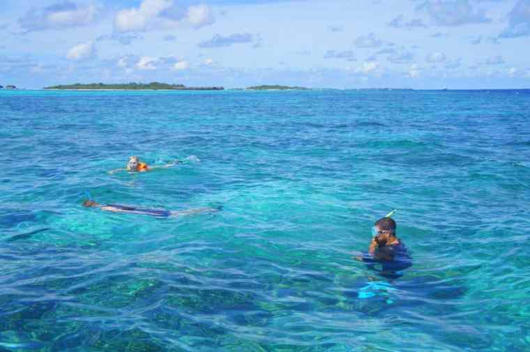Snorkelling with Canopus Retreats