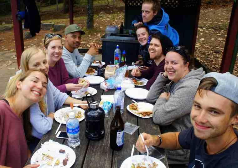 BBQ Blue Mountains trip