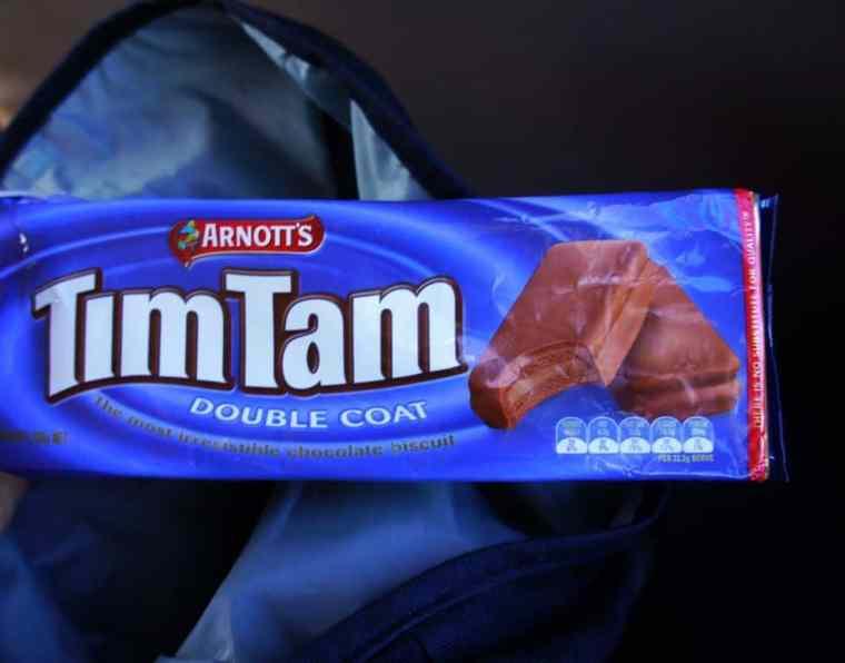 Tim Tam cookies