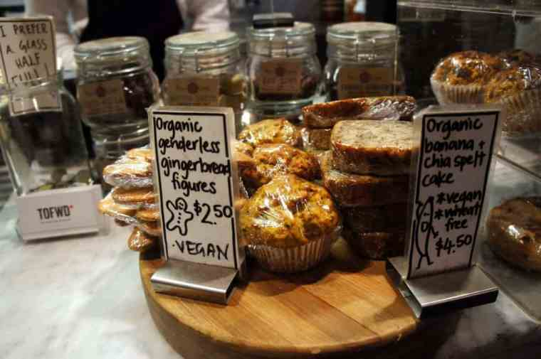 Muffins, cakes and banana bread in Melbourne