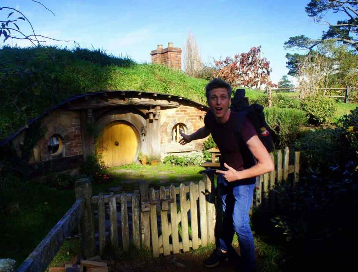 The Hobbit movie set