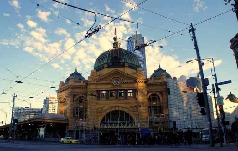 Melbourne railway station