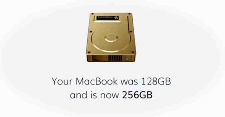 Macbook memory increased TardDisk