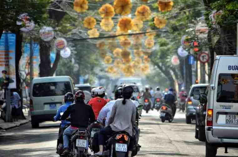 Ho Chi Minh City street