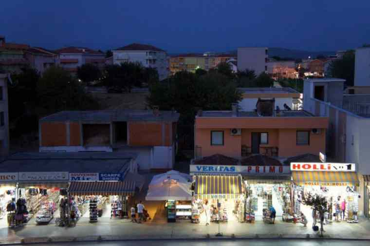 Night view from Hotel Grace, Medjugorje