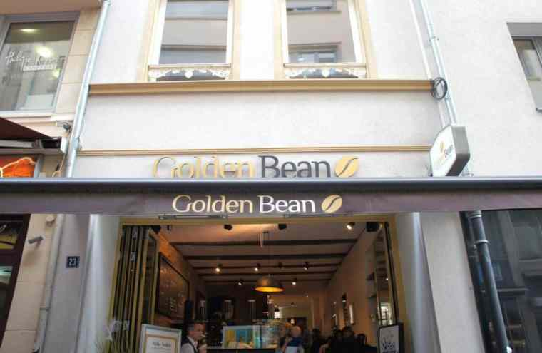 The Golden Bean cafe, Luxembourg