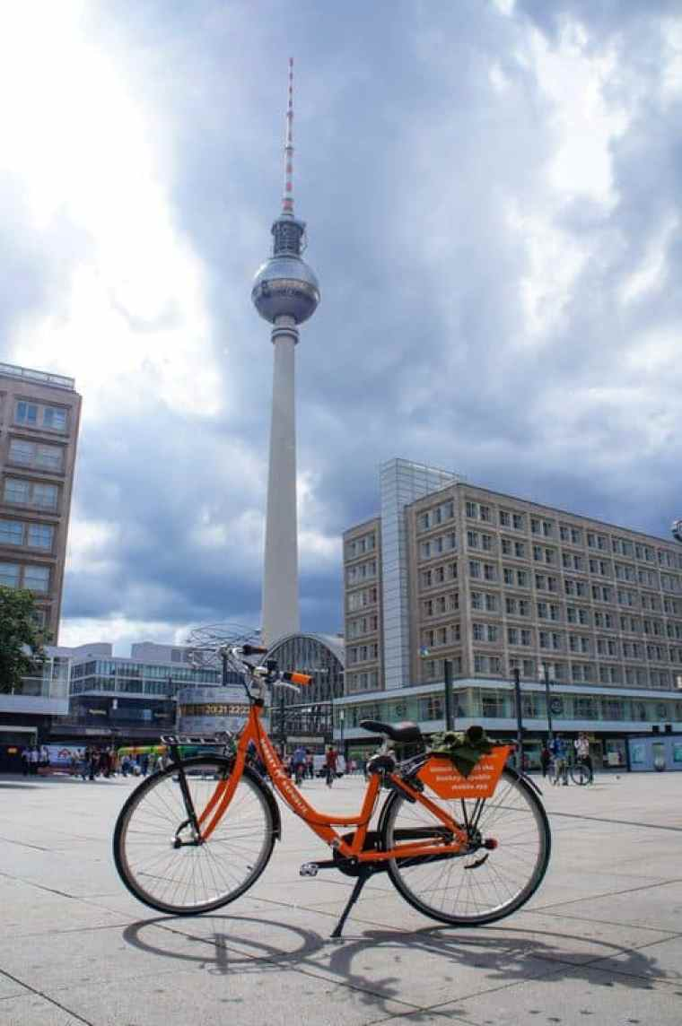 Donkey bike at Alexanderplatz