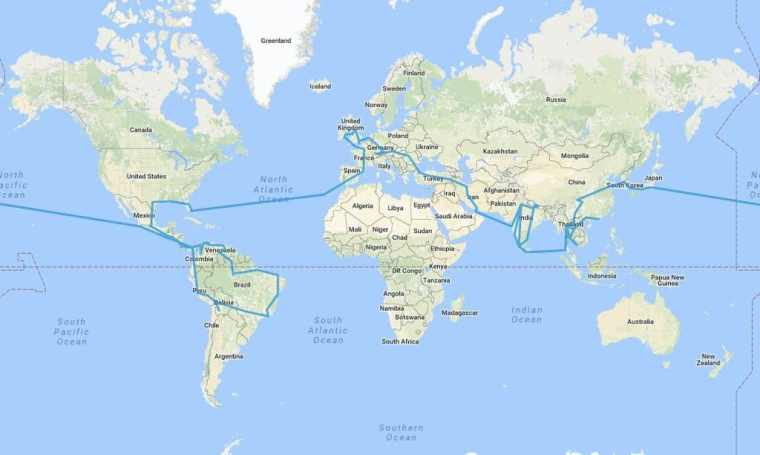 Travel-Without-Flying-–-Niall-Doherty's-route-around-the-world-2