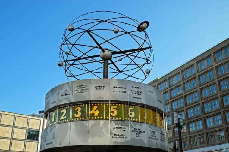 World clock Berlin