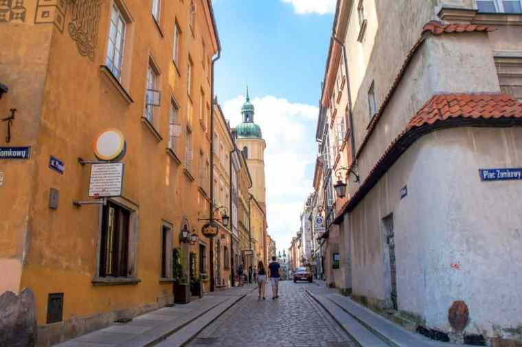 Warsaw streets
