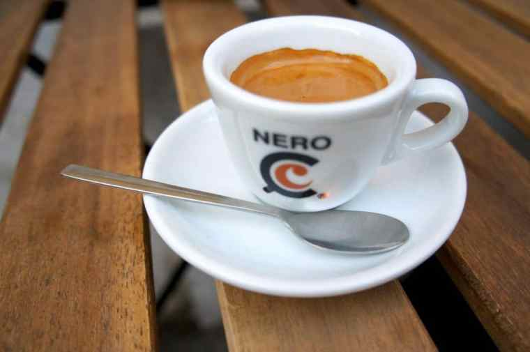 A cup of coffee in Italy