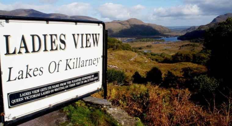 Ladies View, Killarney
