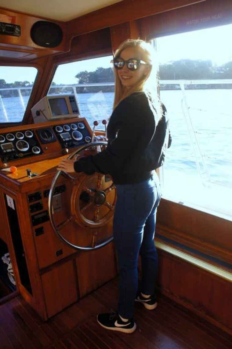 Agness cruising