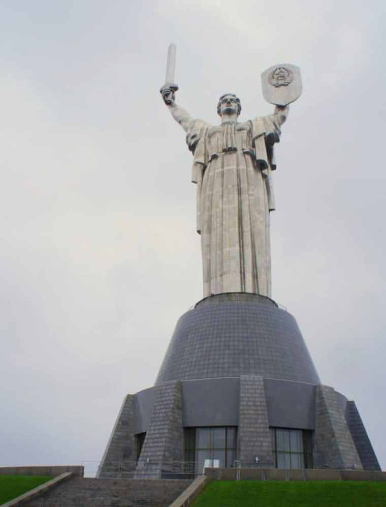Motherland Statue and War Memorials