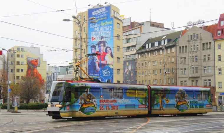 Public transportation in Bratislava, Slovakia