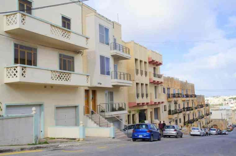 A street in Malta