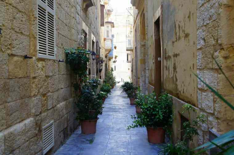 Charming Alley in Malta